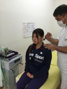 首の治療②
